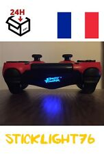 stickers street fighter ps4 logo lightbar manette ps4 led controller