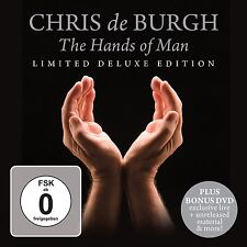 CHRIS DE BURGH - THE HANDS OF MAN (LIMITED DELUXE EDITION) CD + DVD NEU