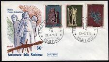 1975 - 30° Anniversario della Resistenza - nn.1292/1294 -  Busta FDC