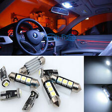 9PCS White Canbus Interior LED Light Package For 98-05 BMW 3 series E46 coupe