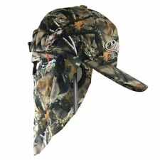 Matthews Lost Camouflage Cap, Camo Hunting Hat with Rear Model Face Mask 61 cm