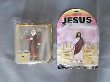 Accoutrements Jesus Action Figure Toy Religious Christ and Moses Biblical
