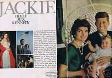 Coupure de presse Clipping 1967 Jackie Kennedy   (10 pages)