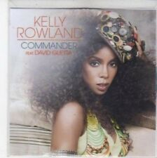 (BQ627) Kelly Rowland, Commander ft David Guetta - DJ CD