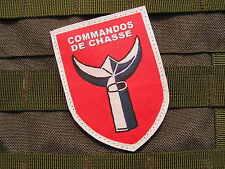 """Patch Velcro  """" COMMANDOS DE CHASSE """" Algérie Bigeard AFN vétéran FRANCE guerre"""