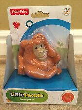 Fisher Price Little People Orangutan Ape Monkey Zoo Animal  BGN62 - NIB!
