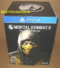 PS4 Mortal Kombat X Kollectors Edition AMAZON EXCLUSIVE New Sealed