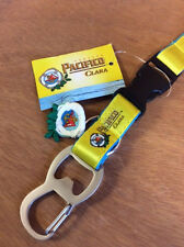 Pacifico Clara Cerveza Beer Lanyard Bottle Opener Key Chain ~ NEW & Free Ship.