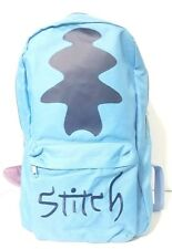 Disney Parks Lilo & Stitch Backpack W/ Stitch Ears Hat Hoodie Blue Book Bag