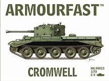Armourfast 99013 1/72 WWII British Cromwell Cruiser Tank (2 Models)