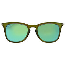 Ray Ban Green Mirror Square Sunglasses