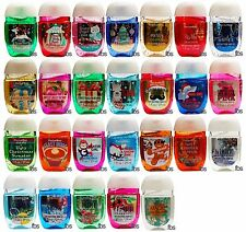 Bath and Body Works Pocketbac Lot of 10 pcs New Assorted Sanitizing Hand Gels