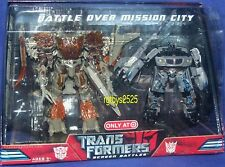 Transformers Target Exclusive Movie Megatron vs Jazz Battle over Mission City