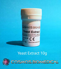 Yeast Extract - For microbiology & bacteriology culture media use - 10g powder
