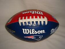 Wilson - New England Patriots Half-Size Football - 2003 Super Bowl 38 Champs NFL