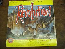 SUR UN AIR DE REVOLUTION 67 chansons originales de l'époque- 1787-1795- 2LP