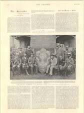 1899 Ce Fripp Fighting Calumpit English Team Elcho Shield Bisley