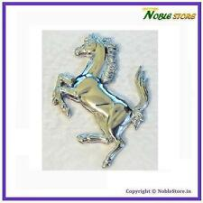 Racing Horse Metal 3D Sticker For SUV Car Bike