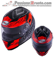 Helmet Suomy Halo Drift Black Red casque moto integral helm size M