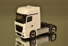 Herpa/scale Works 903194 MB ACTROS GIGASPACE solista TRATTORE 2a * BIANCO/CROMO *