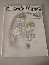 Writer's Digest December 1974. Catholic Writer Terry Tucker Francis Ray Bradbury