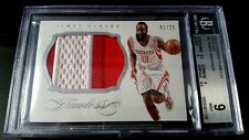 2013-14 JAMES HARDEN FLAWLESS PANINI 2-COLOR JUMBO PATCH 1/25 MINT BGS 9