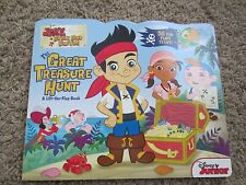 Disney -Jake & the neverland pirates- The Great Treasure Hunt - lift the flap