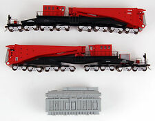 Bachmann HO Scale Train 380-Ton Schnabel Transformer Car Rail Car Red 80503