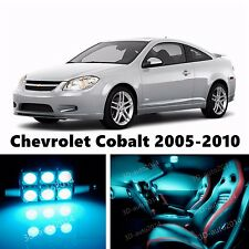 10pcs LED ICE Blue Light Interior Package Kit for Chevrolet Cobalt 2005-2010
