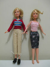 celebrity barbie dolls mary kate and ashley olson teen years great condition