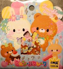 Kawaii CruX Twinkle Party Sticker Flakes Sack 42 Stickers
