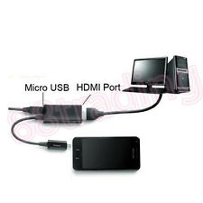 Micro Usb Mhl A Hdmi Hd Tv Cable Adaptador Para Samsung Galaxy S3 Siii I9300