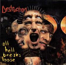 "DESTRUCTION ""All Hell Breaks Loose"" CD thrash metal Onslaught Kreator Artillery"