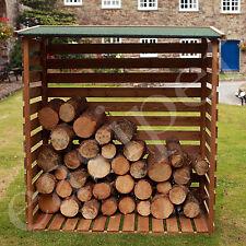 Wooden Log Store Wood Firewood Garden Storage Logs 467