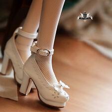 1/3 BJD shoes SD Dollfie DREAM Bow Lolita shoes EID MID SOOM AOD DOD LUTS 0512
