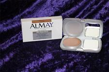 ALMAY Skin Stays Clean Powder foundation makeup CARAMEL DARK oil free RARE
