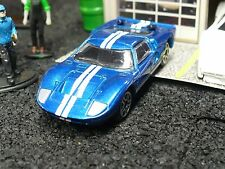1965 Ford GT 40; blue & white w/ TLC custom accents