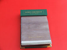James Brindley Fabric Sample Book 71 samples  for crafts patchworks etc
