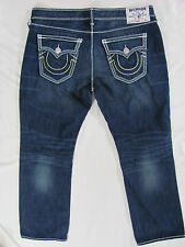 True Religion Mega T Straight Flap Rope Logo -Mud Slinger- Size 42 -NWT $345