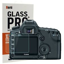 Rerii Tempered Glass Screen Protector for Canon EOS 5D II 1DS Mark III 0.3mm ...