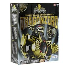MIGHTY MORPHIN POWER RANGERS LIMITED BLACK EDITION LEGACY DRAGONZORD Brand New!