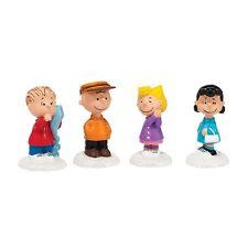 Dept 56 PEANUTS GANG Set/4 Peanuts Village CHARLEY BROWN 4038642 Free Shipping