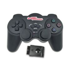 2.4G Wireless Shock Controller Game Pad Joystick Joypad for Sony PS2 Black