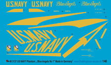 "Peddinghaus 3137 1/48 US Navy Phantom "" Blue Angels "" No 1"