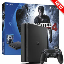 New Sony Uncharted 4 PlayStation 4 500GB Slim Bundle A Thief's End PS4