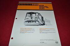 Case Tractor 850B Angle Tilt Dozer Dealer's Brochure MISC3