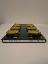 Studer card for 900 series console, 4/2 switch A, number 1.915.605.22., nr.1