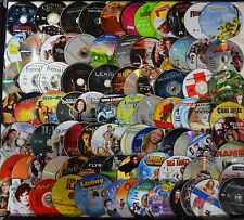 Wholesale Lot of 200 Used Assorted Bulk DVD Disc Only No Duplicate Free S&H