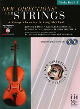 New Directions for Strings, Viola Bk 1 & 2 CDs