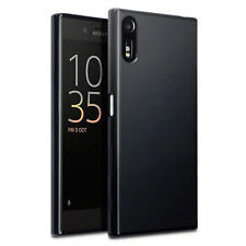 Terrapin Thin Rubber Gel Case Cover for Sony Xperia XZ Black Matte